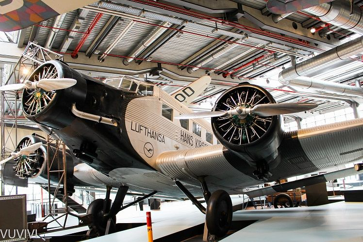 Ju52 Deutsches Technikmuseum Berlin