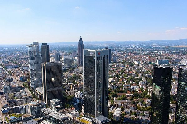 Main Tower Besucherplattform Frankfurt